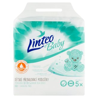 Linteo Baby Changing Pad 5 pcs