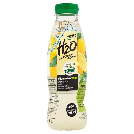 Rio H2O Spring Water with Lemon Pulp 500 ml