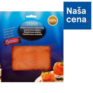 Tesco Údený losos plátky 100 g