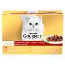 GOURMET Gold Multipack Pieces in Sauce 12 x 85 g