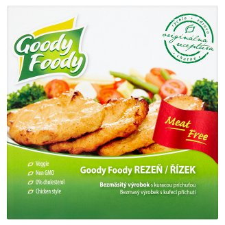 Goody Foody Schnitzel Meatless Chicken-Flavoured Product 145 g