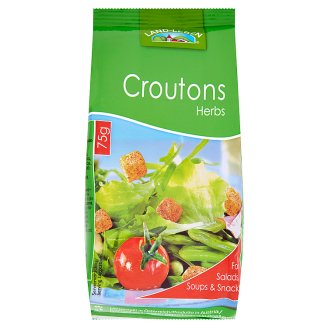 Land-Leben Croutons Flavored with Herbs 75 g
