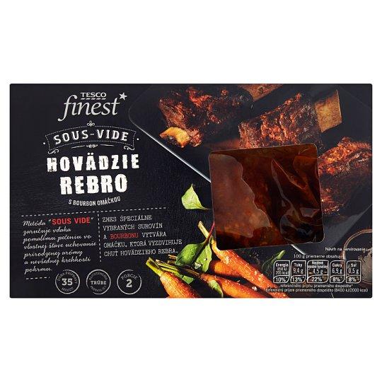 Tesco Finest Sous - Vide Beef Ribs with Bourbon Sauce 310 g +50 g