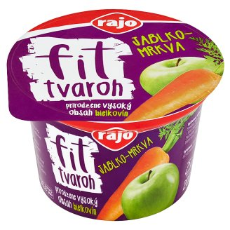 Rajo Fit Apple-Carrot Curd 200 g