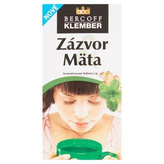 Bercoff Klember Wellness Zázvor mäta aromatizovaný bylinný čaj 20 x 2,0 g