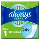 Always Ultra Normal (Size 1) Sanitary Towels 24 Pads