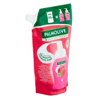 Palmolive Magic Softness Penový tekutý prípravok na umývanie rúk malina 500 ml