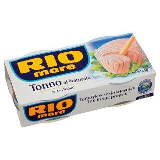 Rio Mare Tuniak vo vlastnej šťave 2 x 160 g