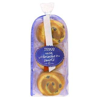 Tesco Raisin Brioche Swirls 6 pcs 270 g