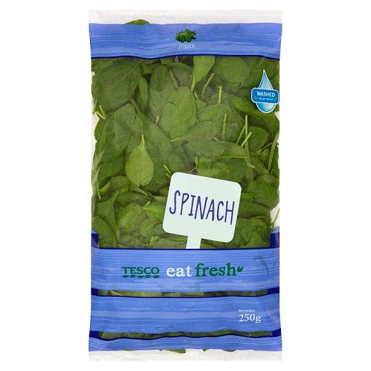 Tesco Eat Fresh Špenát praný 250 g