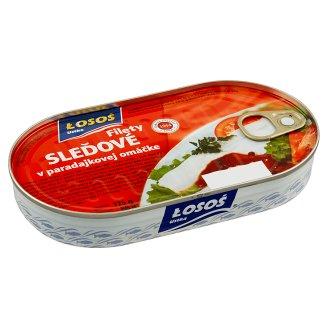 Łosoś Ustka Filety sleďové v paradajkovej omáčke 175 g