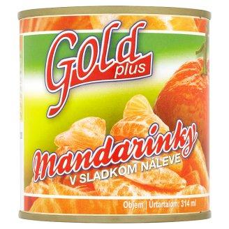 Gold Plus Mandarins in Sweet Syrup 312 g