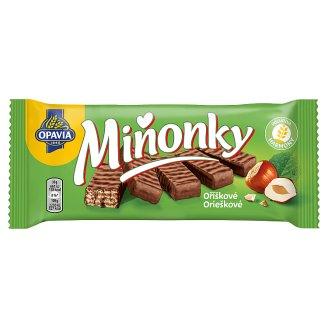 Opavia Miňonky Orieškové oblátky celomáčané v mliečno-kakaovej poleve 50 g