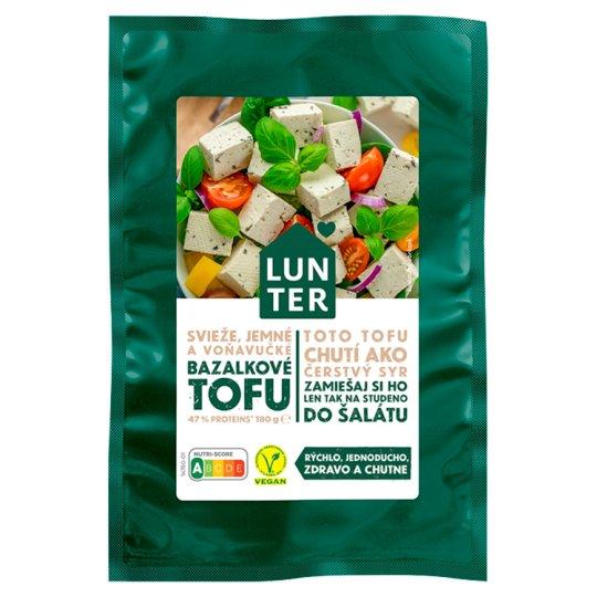 Lunter Tofu bazalka 180 g