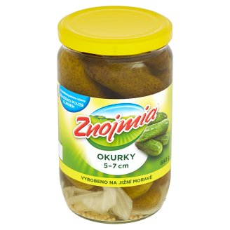 Znojmia Cucumbers Sterilized 50-70 mm 660 g