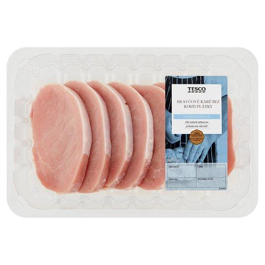 Tesco Boneless Pork Loin Slices - Cooled 792 g