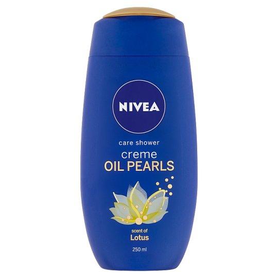 Nivea Creme Oil Pearls Lotus Ošetrujúci sprchový gél 250 ml