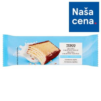 Tesco Wafer with Milk Filling 47 g