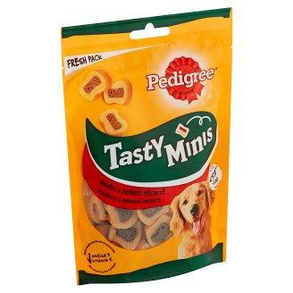 Pedigree Tasty Bites Doplnkové krmivo pre dospelých psov s hovädzím 155 g