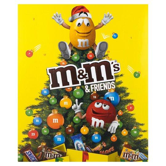 M&M's & Friends adventný kalendár 361 g