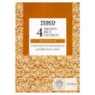 Tesco Brown Rice Sachets Wholegrain 4 x 125 g