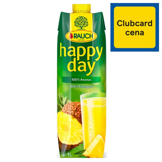 Rauch Happy Day 100% Pineapple 1 L