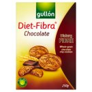 Gullón Diet-Fibra Biscuits with High Fiber and Dark Chocolate Chips 250 g