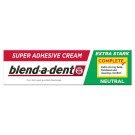 Blend-a-dent Complete Neutral Fixačný Krém Na Zubnú Protézu 47g