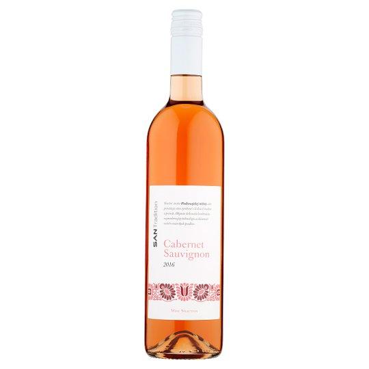 Sanvin San Tradition Cabernet Sauvignon Quality Varietal Wine Rose Semi-Dry 0.75 L