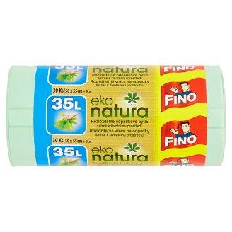 Fino Eko Natura rozložiteľné vrece na odpadky 35 l 30 ks