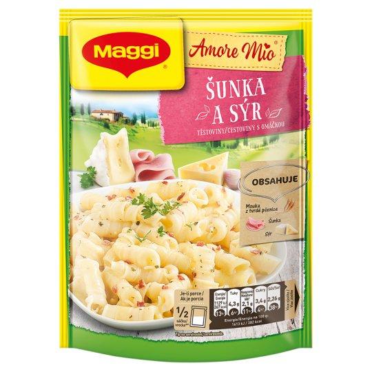 MAGGI Amore Mio Šunka a syr cestoviny s omáčkou vrecko 140 g