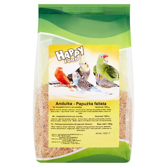 Happy Food Parakeet 1000 g