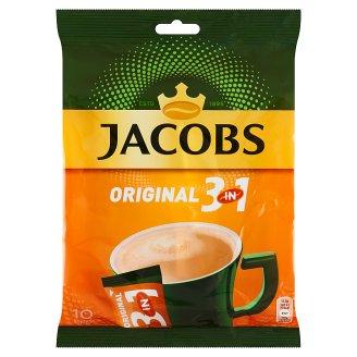 Jacobs Original 3v1 sladená rozpustná zmes 10 x 15,2 g