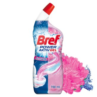 Bref Hygienically Clean & Shine Gel Floral Delight 700 ml