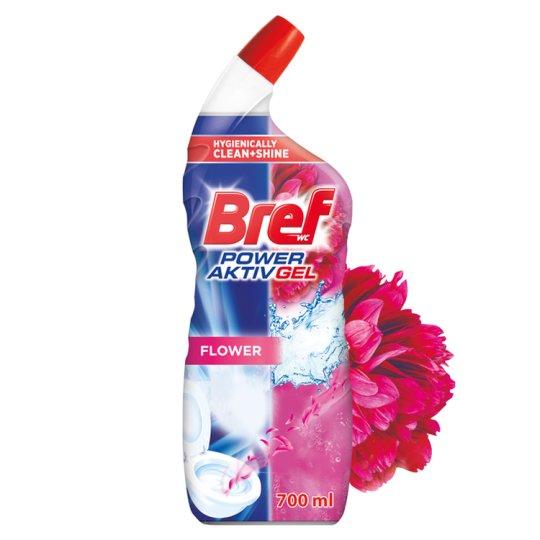 Bref Hygienically Clean & Shine Gel Floral Delight 700 ml