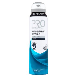 Tesco Pro Formula Invisible antiperspirant dezodorant 150 ml