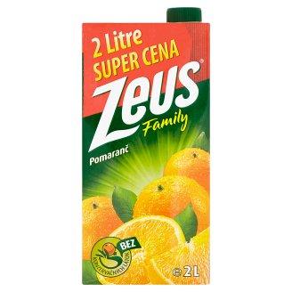 Zeus Family Pomaranč nápoj 2 l