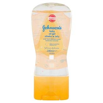 Johnson's Baby olejový gél s vôňou kvetov 200 ml