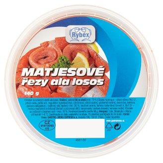 Rybex Matjesové rezy ala losos 140 g
