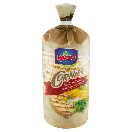 Racio Cornies kukuričné chlebíčky s medvedím cesnakom 115 g