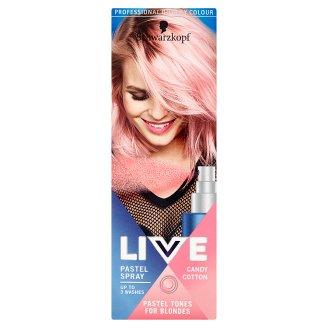 Schwarzkopf Live Pastel Spray zmývateľná farba Cukrová Vata 125 ml