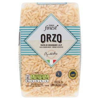 Tesco Finest Orzo bezvaječné semolinové sušené cestoviny 500 g
