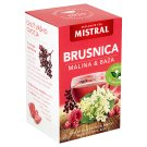 Mistral Cranberry, Raspberry & Elderberry Fruit Tea 20 x 2 g
