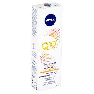 Nivea Q10 Plus C Očná starostlivosť proti vráskam 15 ml