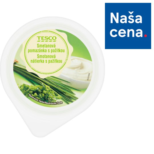 Tesco Cream Chive Spread 150 g
