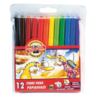 KOH-I-NOOR Fibre Pens 12 pcs
