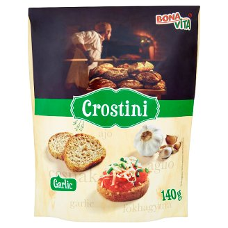 Bona Vita Crostini s cesnakovou príchuťou 140 g