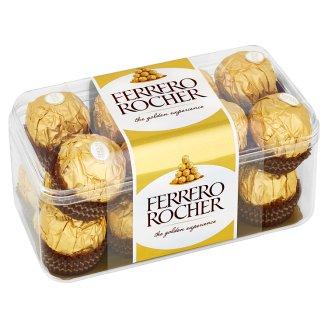 Ferrero Rocher Oblátky poliate mliečnou čokoládou s drvenými lieskovcami 200 g