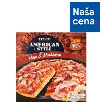 Tesco American Style Ham & Mushroom Pizza 423 g