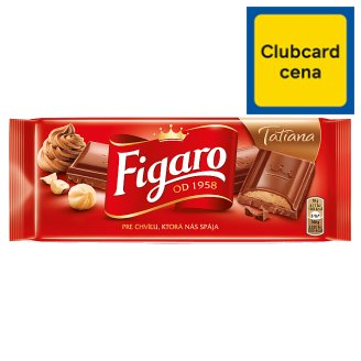 Figaro Tatiana Milk Chocolate with Hazenult Filling 90 g